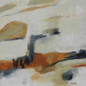 "Wendy Dison ""Christie's Fields 2"" Oil on Canvas"