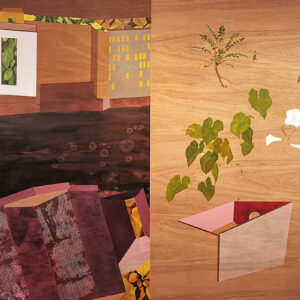 Deirdre Frost, Bioscience, oil on panel 122cm x 244cm , €2000 shop