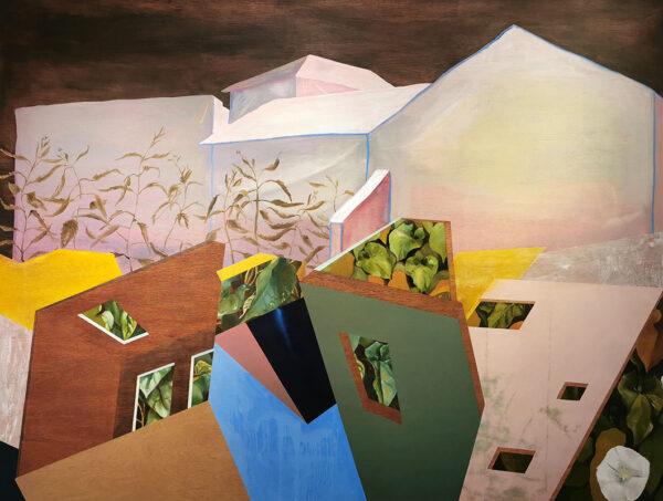 Deirdre Frost, Cúl an Ti, oil on panel, 122cm x 161cm €1250 shop