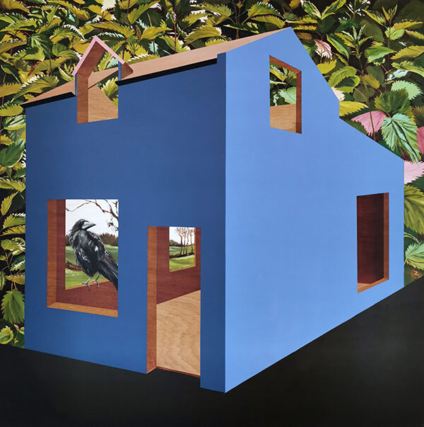 Deirdre Frost, Heidegger_s House, oil on panel 120cm x 120cm €1020 shop