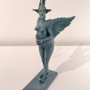 Fidelma Massey Birdbeast €1900 33 x 31 x 7.5 cm 2021