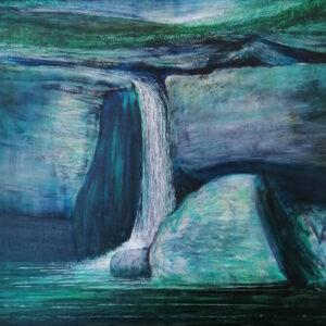 Maurice Desmond Water Falling I Acrylic on Canvas €7,500 91.5 x 76.5 cm 2014