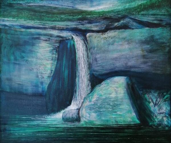 Maurice Desmond Water Falling I Acrylic on Canvas €7,500 91.5 x 76.5 cm 2014