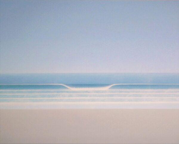 Patrick Cashin, Calm Sea, Oil on Canvas, €1,850 50 x 60 cm 2021