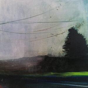 Patrisha Burns Evening commute 1 oil on canvas1300 50 x 30 xm 2020