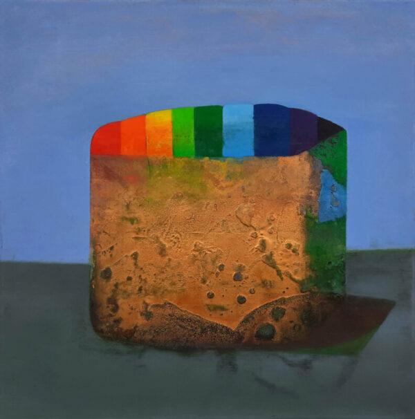 Tom ClimentGerminator Oil & plaster on canvas, 51x51 cm, €22002021