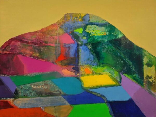 Tom ClimentMiskish, Oil, plaster & sand on board, 61x46 cm, €2300 2021