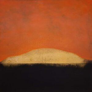 Tom Climent Sun Gilden, Oil & plaster on canvas, 60x60 cm, €2600 2021