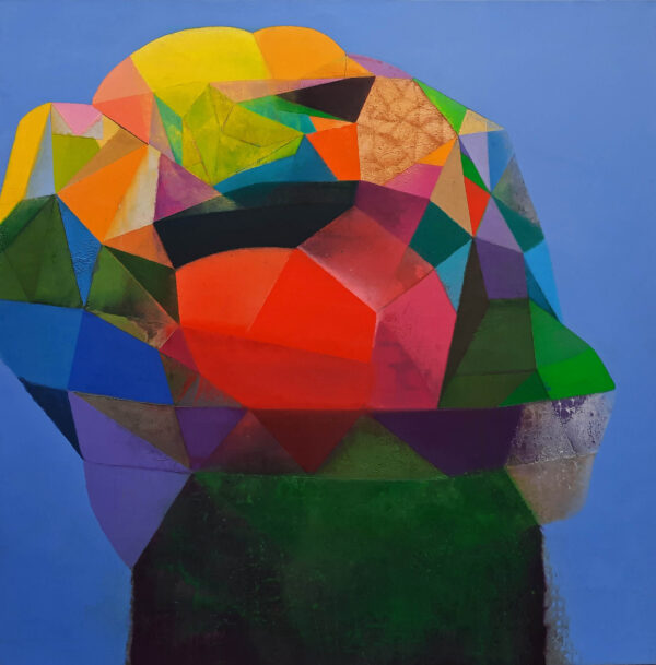 Tom Climent Whorl Oil & Plaster on Canvas 122 x 122 cm €6500